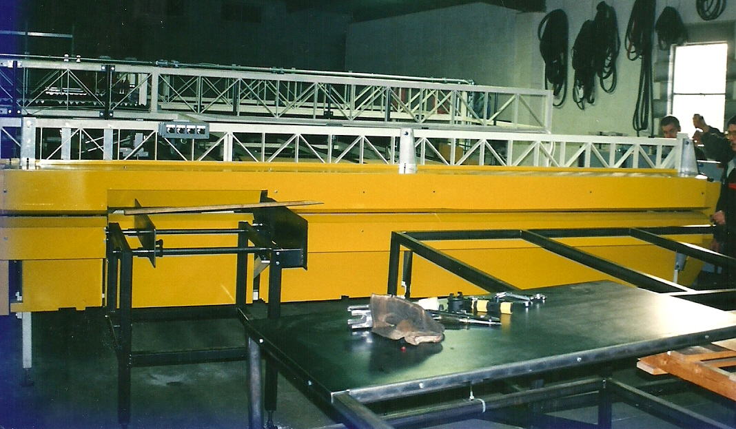 Large Corragated Box Gluer